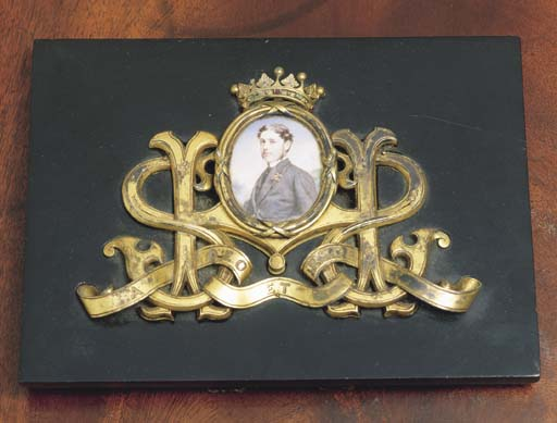 **A VICTORIAN MINIATURE ON IVO