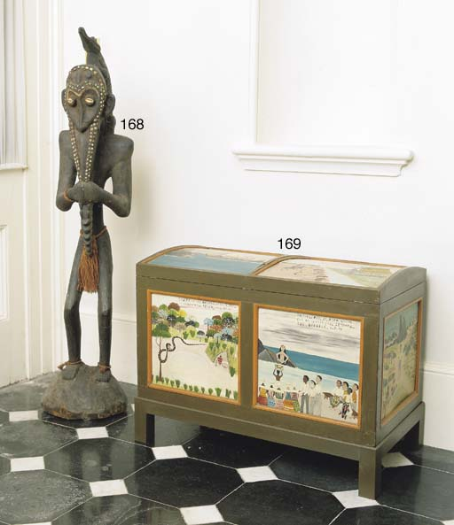 A NEW GUINEAN CARVED STANDING