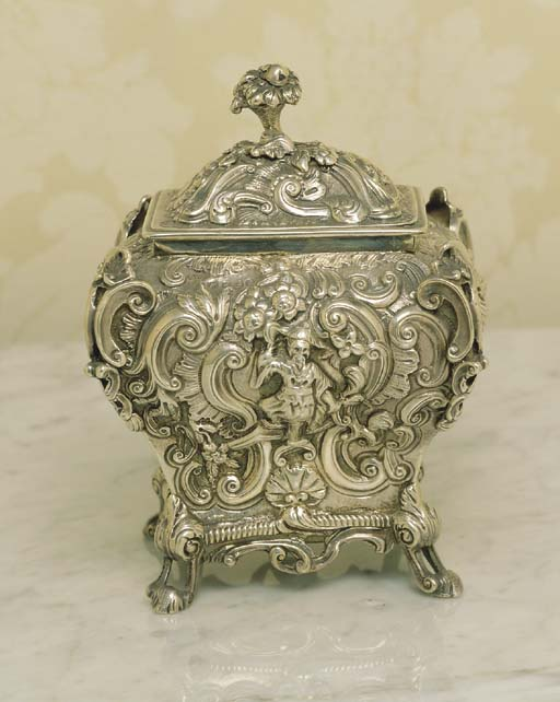 A GEORGE IV STERLING SILVER CH