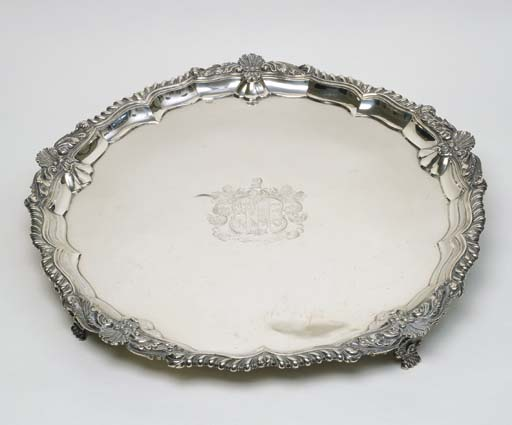 A LARGE GEORGE III STERLING SI