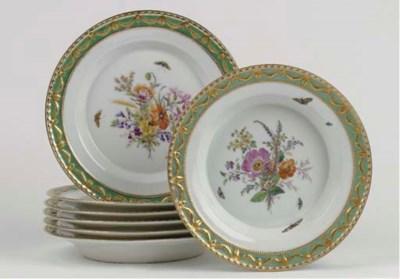 A Berlin KPM porcelain Royal d