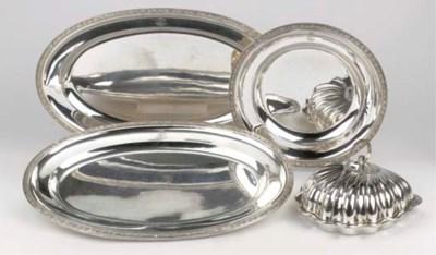 Four Austro-Hungarian silver d