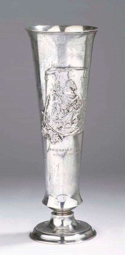 An Austro-Hungarian silver vas