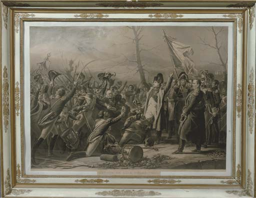 A PAIR OF LITHOGRAPHS