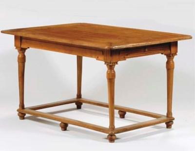 AN AUSTRIAN CHERRYWOOD TABLE
