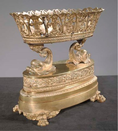 A RESTAURATION ORMOLU PIECE DE