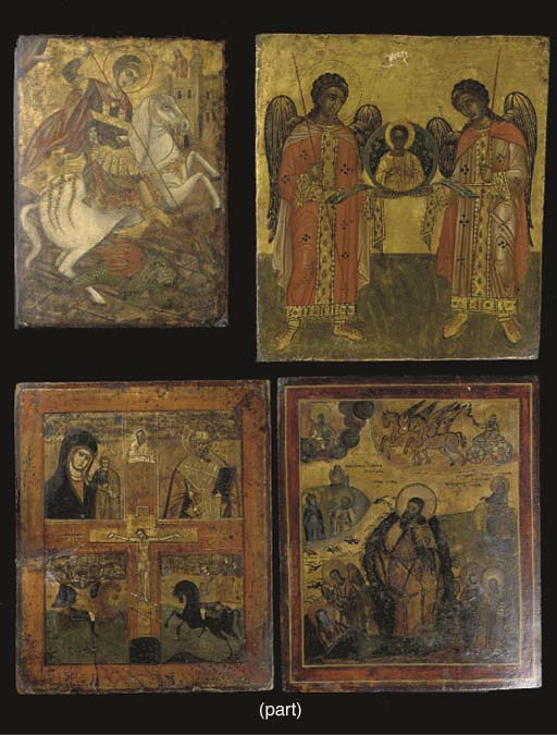 A collection of nine various i