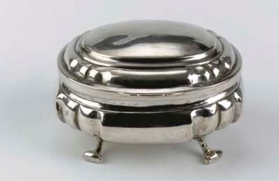 A German silver sugarbox