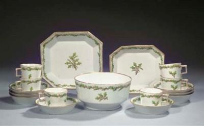 (34) A Fürstenberg porcelain p