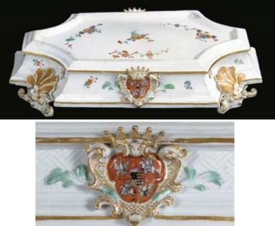 A rare Meissen porcelain 'Coro