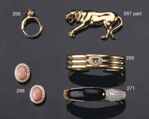 A PANTHER RING, BY CARTIER