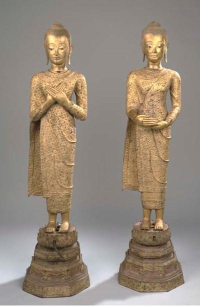 A pair of Thai, Ratnakosin per
