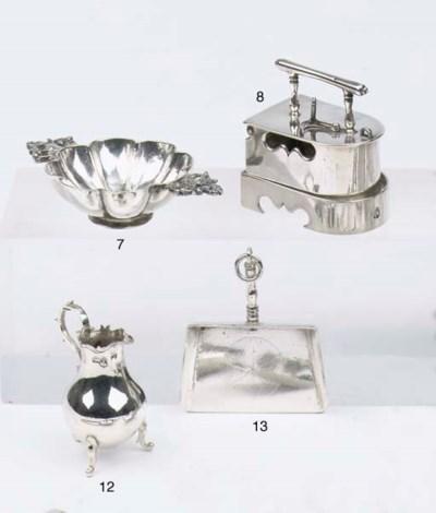 A Dutch silver miniature milk