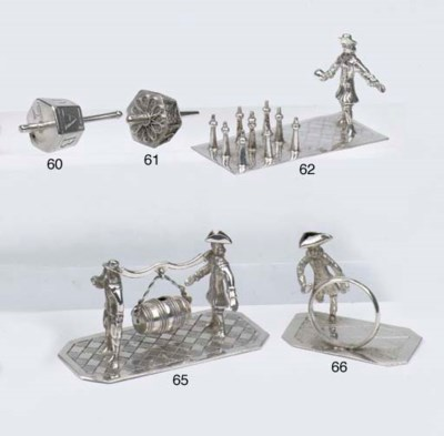 A Dutch silver miniature filig