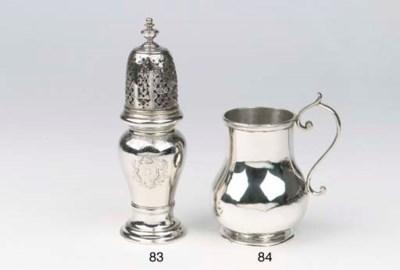 A Dutch silver tankard (compos