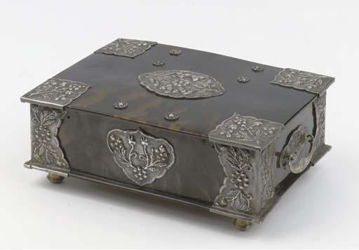 A Dutch colonial tortoise-shel