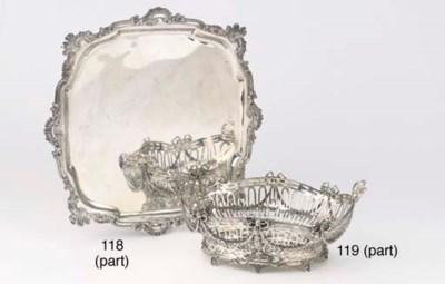 Three various Dutch silver sal