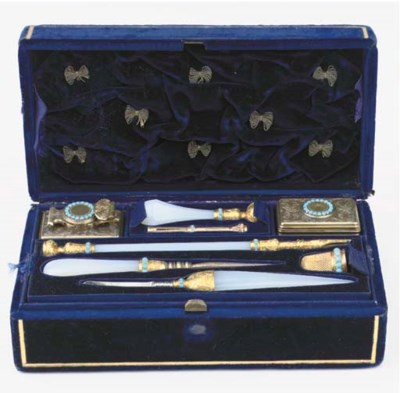 A Victorian English silver and