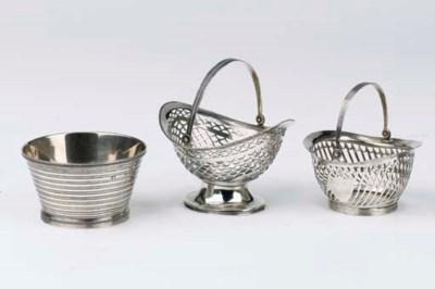 Three various Dutch silver