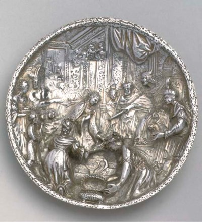 A German silver plaquette
