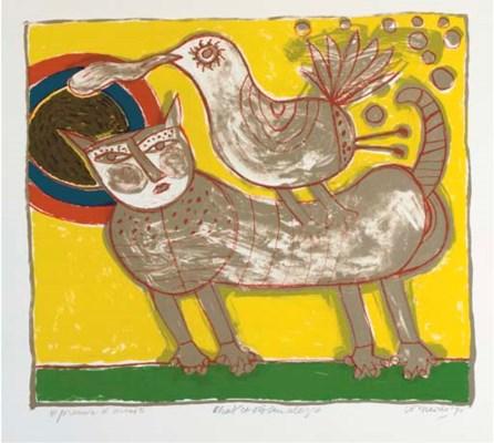 (6) Corneille (Dutch, b. 1922)