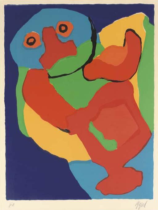 (2) Karel Appel (Dutch, 1921-2