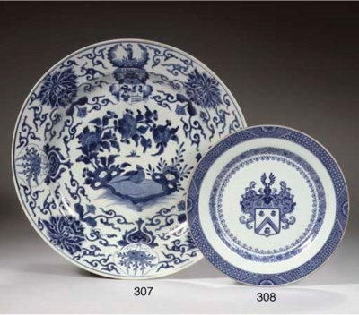 A blue and white Dutch market