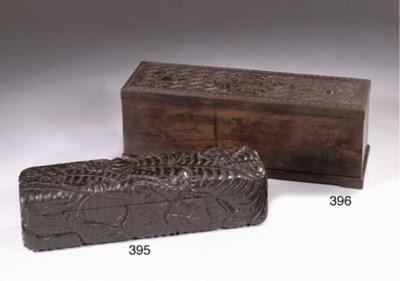A Zitan scroll box