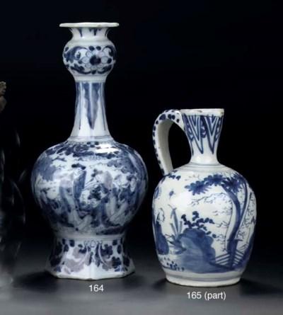 A Dutch Delft blue and white j