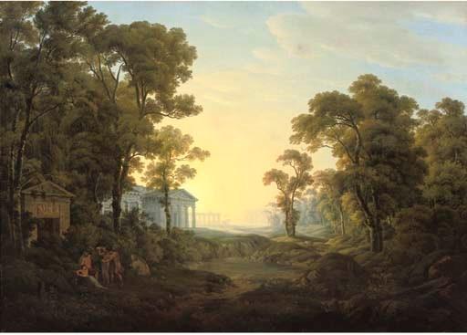 Joseph Rebell (Vienna 1787-182