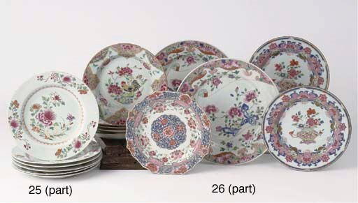 (18)  An assorted lot of Chine