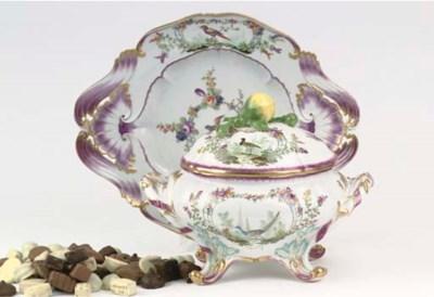 A Meissen porcelain ornitholog