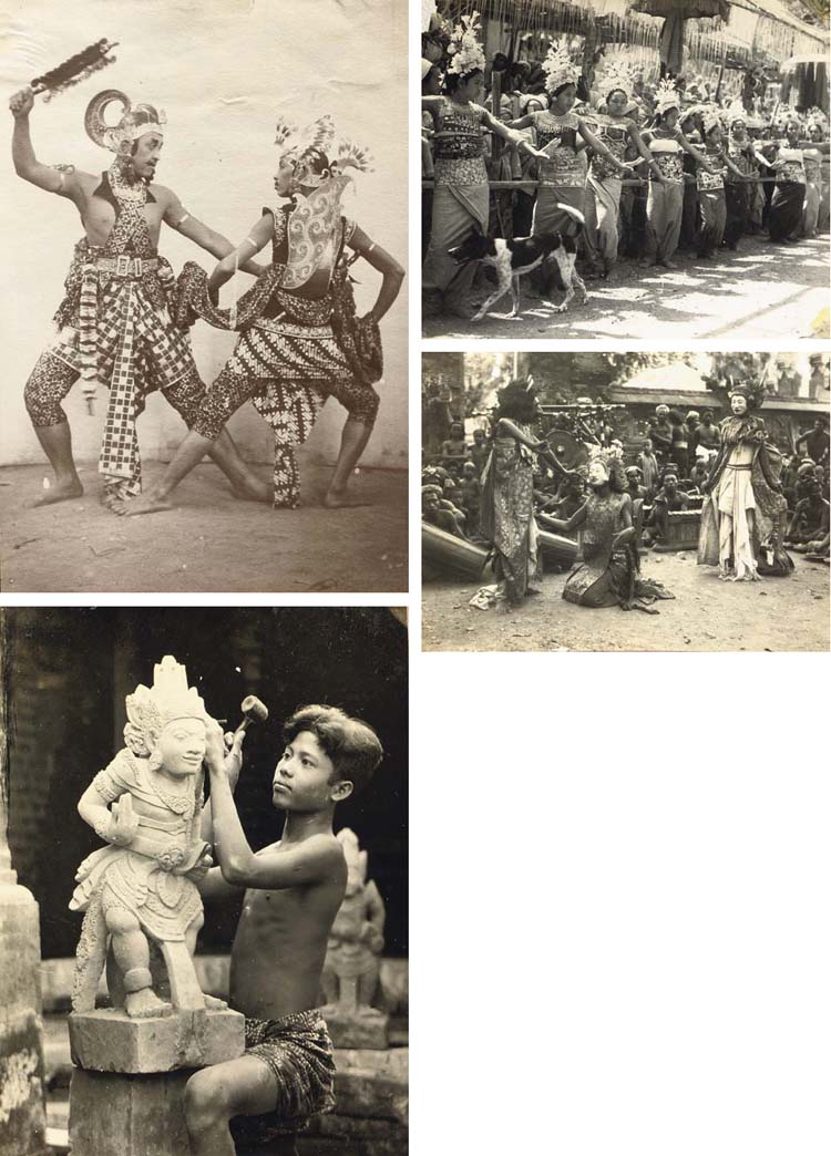A collection of photographs fr