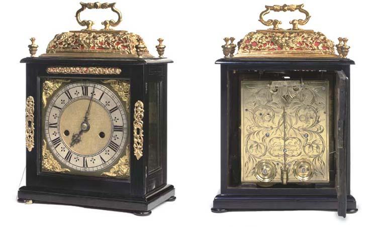 A William and Mary ebony-venee