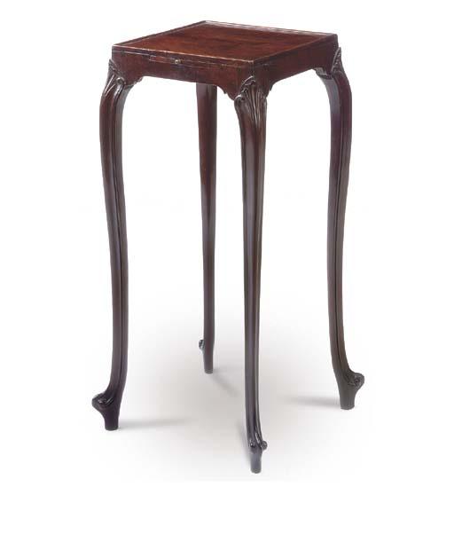 A GEORGE III MAHOGANY URN-TABL