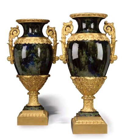 A pair of Charles X style ormo