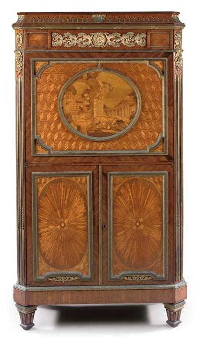 A Louis XVI style ormolu-mount