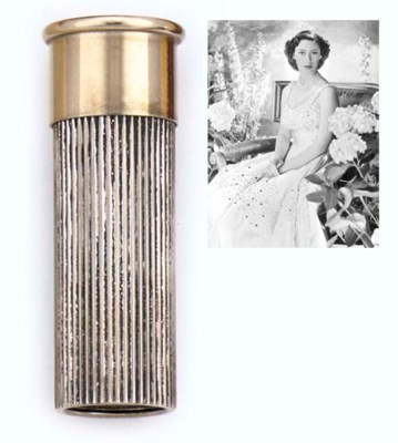 A GEORGE VI SILVER AND GILT-ME