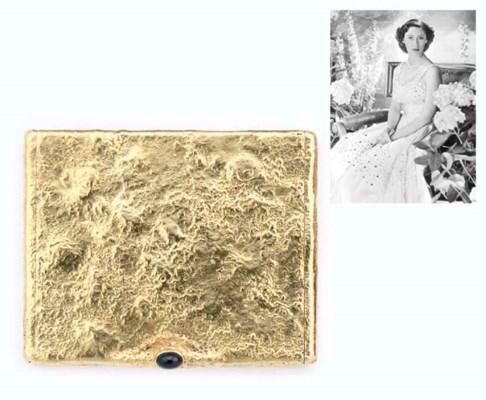 A GEORGE VI GOLD SAMORODOK CIG