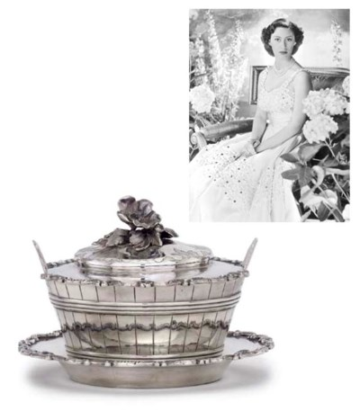 A WILLIAM IV SILVER BUTTER-DIS