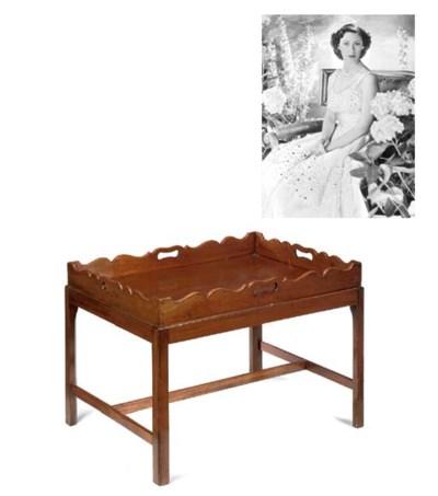 A Victorian mahogany butler's