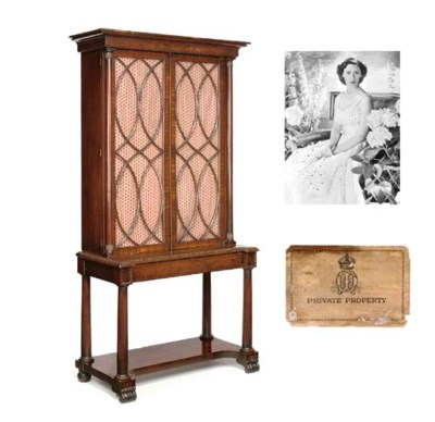 Queen Mary's bookcase A Willia