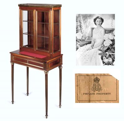 Queen Mary's display cabinet A