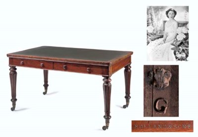 George V's writing table An ea