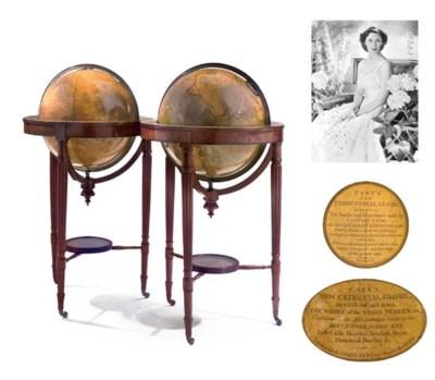 A pair of Regency 18-inch diam