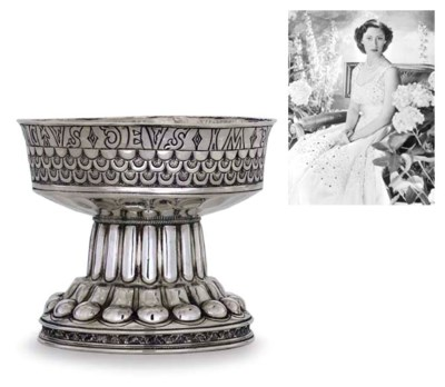 AN EDWARD VII SILVER REPRODUCT