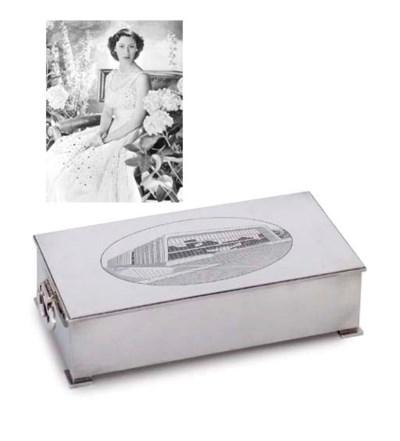 A SILVER JEWEL-BOX