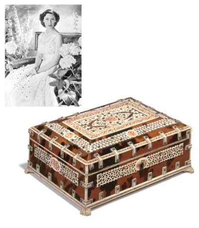 An Anglo-Indian sandalwood, iv