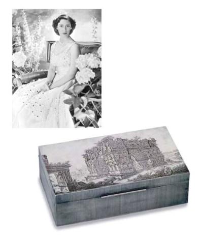 AN ITALIAN CIGARETTE-BOX