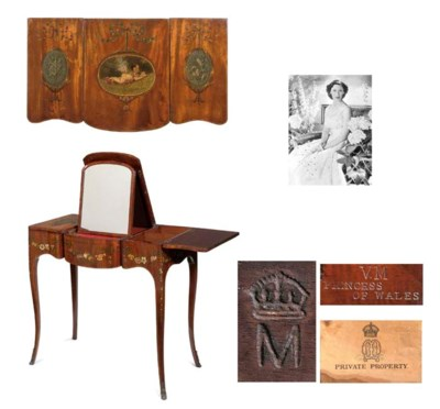 Queen Mary's dressing table An